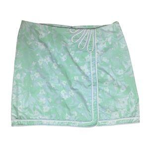 "LILLY PULITZER 60's vintage wrap skirt 35"" waist"